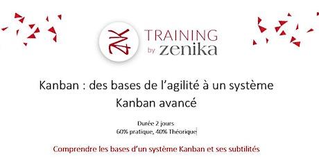 Formation Kanban : des bases de l'agilité à un système Kanban avancé_FR_2jr billets