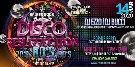 "70's,80s"" 90s"" Disco  Dance Party -  Disco Resurrection tickets"