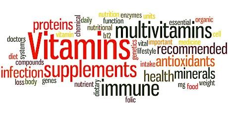 Vitamins and Minerals - Free Healthshop tickets