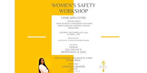 Women's Safety Workshop