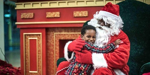 Pictures with Black Santa $20