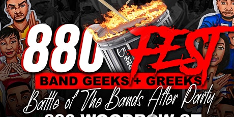 #880Fest: Band Geeks and Greeks pt. 1 tickets