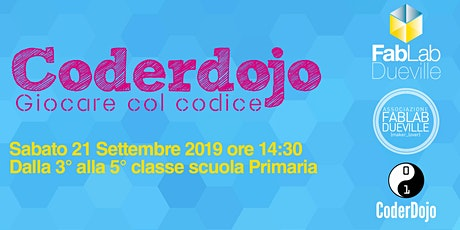 Coderdojo Dueville 21 Dicembre 2019 biglietti
