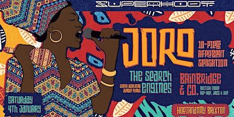 Superhoot presents Joro, The Search Engines & Bainbridge & Co. tickets