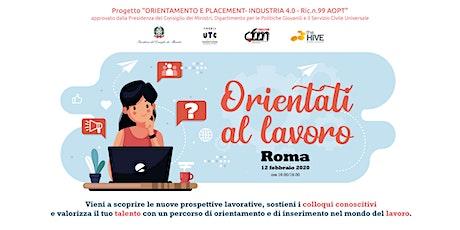 Orientati al lavoro | Talent Meeting ROMA biglietti
