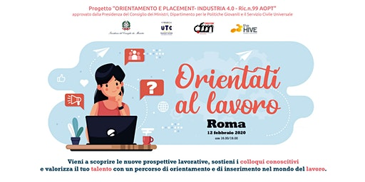 Orientati al lavoro | Talent Meeting ROMA