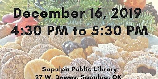 Cookie Exchange at Sapulpa Public Library