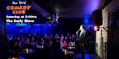 Free Tickets for the 'Early Show' at New York Comedy Club -  Standup Comedy tickets