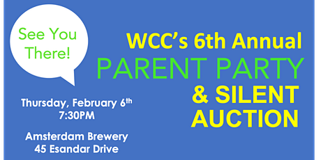 6th Annual WCC Parent Party & Silent Auction tickets