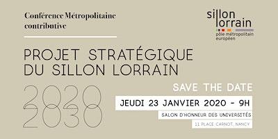 Conférence métropolitaine du Sillon Lorrain - Projet stratégique 2020-2030