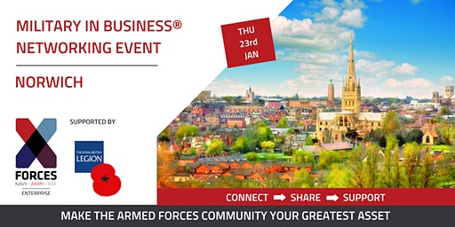 Military in Business Networking Event- Norwich