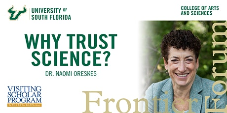 Frontier Forum Presents Dr. Naomi Oreskes tickets