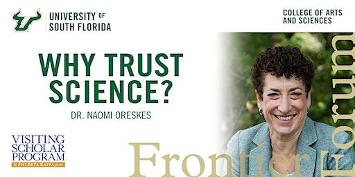 Frontier Forum Presents Dr. Naomi Oreskes