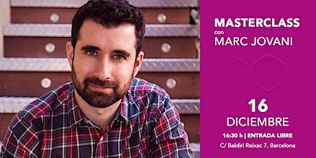 "Masterclass de Marc Jovani: ""How to compose Hollywood-style music"" entradas"