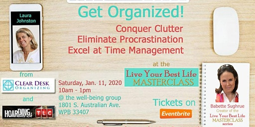 Get Organized and Live Your Best Life Masterclass
