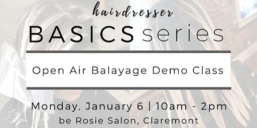 Hairdresser BASICS: Open Air Balayage