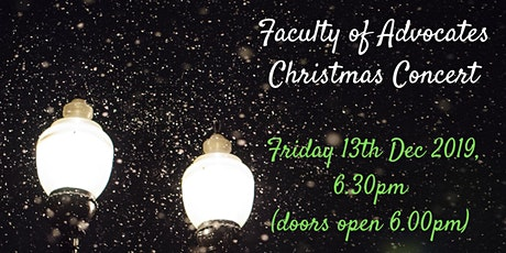 Faculty of Advocates Christmas Carols tickets