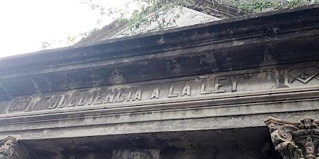 Cementerio de Recoleta y Masonería entradas