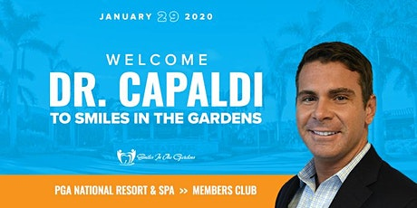 Welcome Dr. Capaldi to Smiles in the Gardens tickets