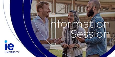 Get to Know IE Info Session - Bogotá entradas