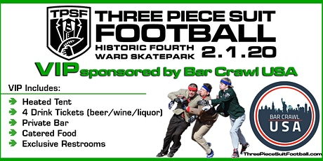 Three Piece Suit Football Charity Festival - VIP Reception tickets