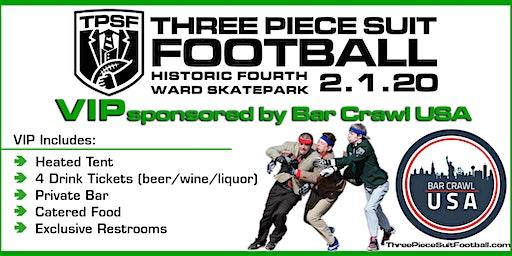 Three Piece Suit Football Charity Festival - VIP Reception