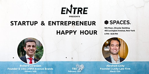 Startup & Entrepreneur Happy Hour - NYC