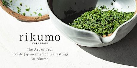The Art Of Tea: Private Tea Tastings @ Rikumo tickets