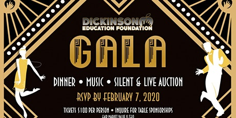 Dickinson Education Foundation 13th Annual Gala - Roaring 20s tickets