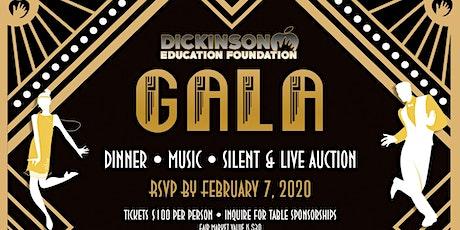 Dickinson Education Foundation 12th Annual Gala - Roaring 20s tickets