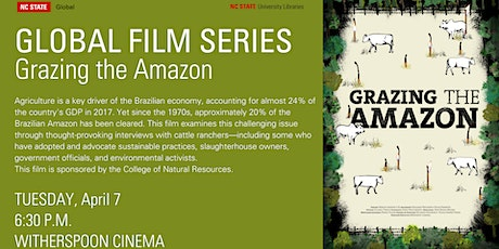 Global Film Series: Grazing the Amazon tickets