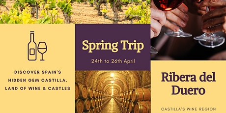 Trip to wine region Ribera de Duero (Spain) entradas