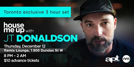 JT DONALDSON 3 Hr Set Toronto Exclusive tickets