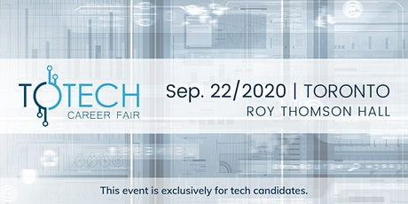 TOTech Career Fair - Fall 2020 tickets