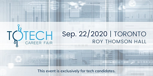 TOTech Career Fair - Fall 2020
