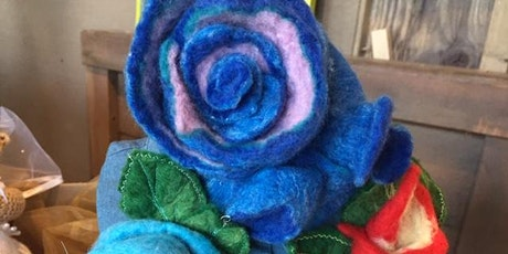 Felt Creations  Class with  Tea treats - Temple Bar tickets