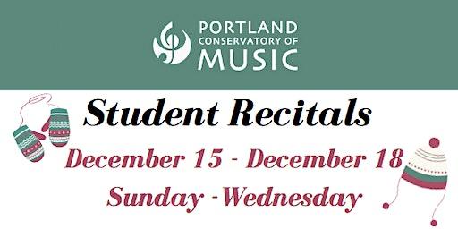 PCM Student Recitals