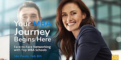 Feira Internacional de MBAs em São Paulo - QS World MBA Tour tickets