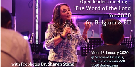 Prophetic open leaders meeting with Dr Sharon Stone (UK) tickets