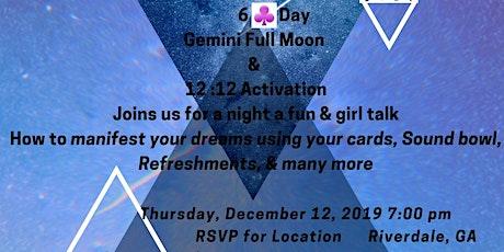 Gemini Full Moon & 1212 Activation tickets
