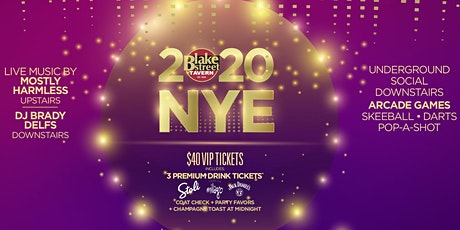 Blake Street Tavern New Year's Eve Party! tickets