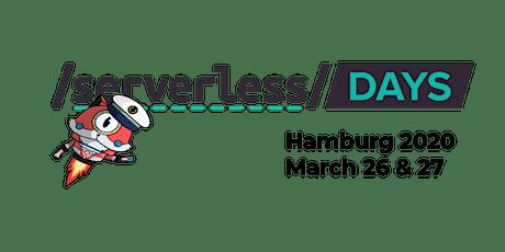 ServerlessDays Hamburg 2020 Tickets