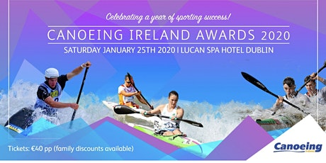 Canoeing Ireland Annual Awards Gala tickets