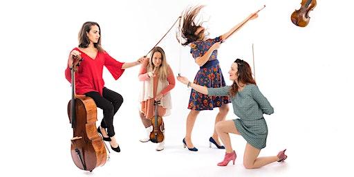 7. Streichquartett-Festival ICKINGER FRÜHLING 2020, Konzert 4: Quatuor Zaïde