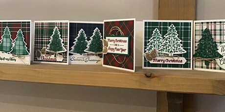 Decorate your own Christmas Cards & Gift Tags craft session tickets