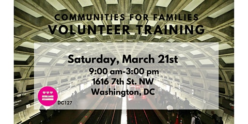Communities for Families Volunteer Training - March 2020