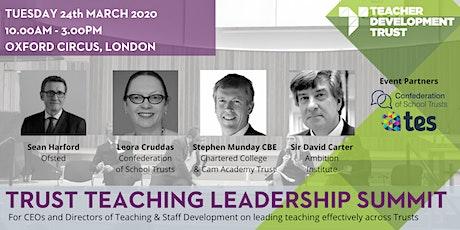 Trust Teaching Leadership Summit tickets