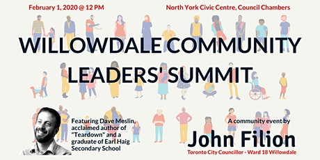 Willowdale Community Leaders' Summit tickets