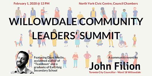 Willowdale Community Leaders' Summit