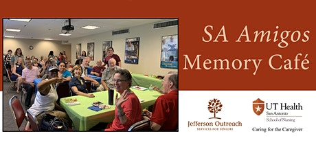 SA Amigos Memory Cafe Valentine's Day Celebration (February 14, 2020) tickets